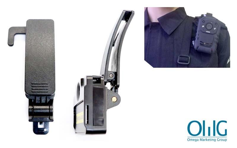 BWC004-SC - Police Body Worn Camera - Accessories - Shoulder Clip - Multi View