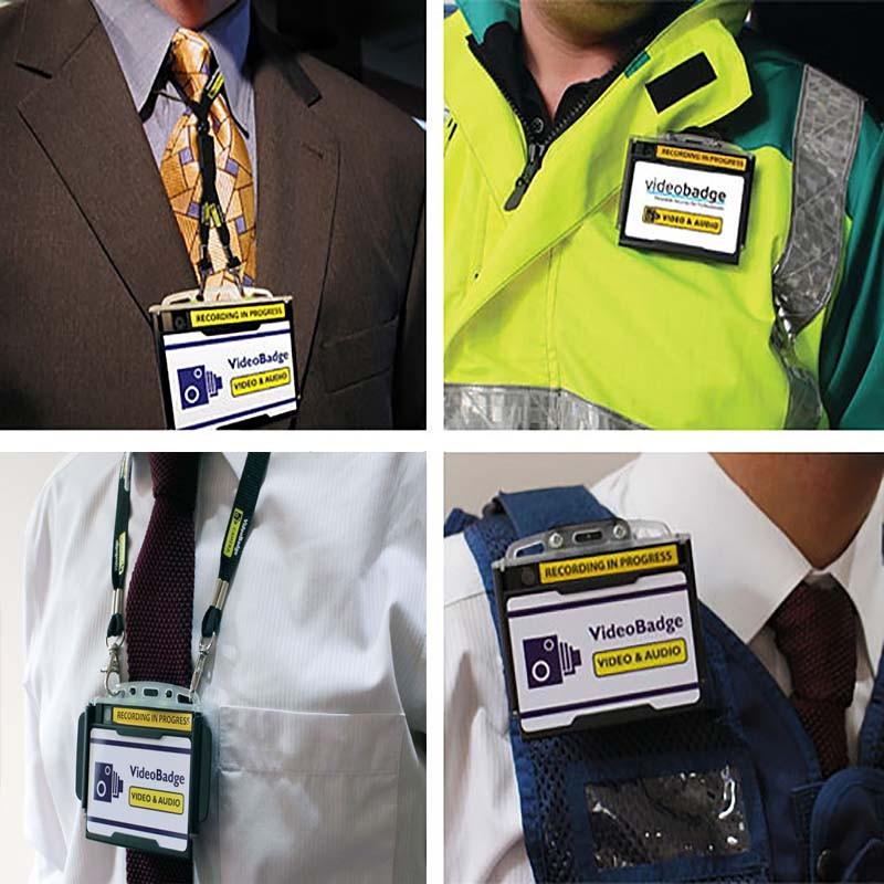 BWC041 - Politiets badge Body Slidt kamera - Anvendelse
