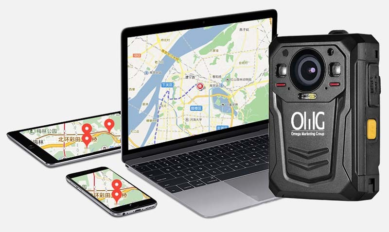 BWC058-4G - Mini WIFI, GPS, 3G, 4G Kierperverschmotzt Kamera - Live Tracking Via Built GPS