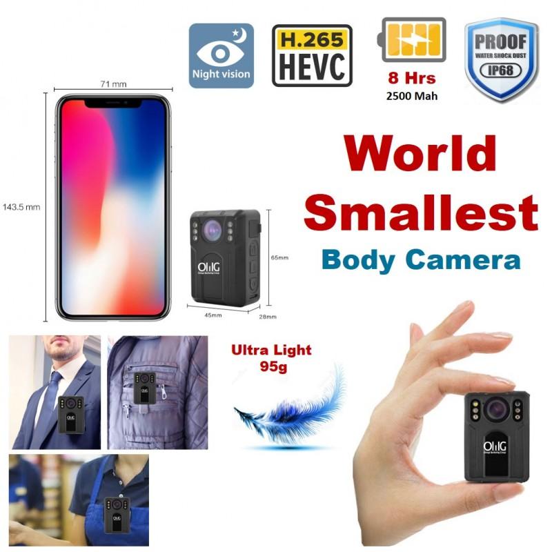 BWC075 – OMG World Smallest Mini Police Body Worn Camera