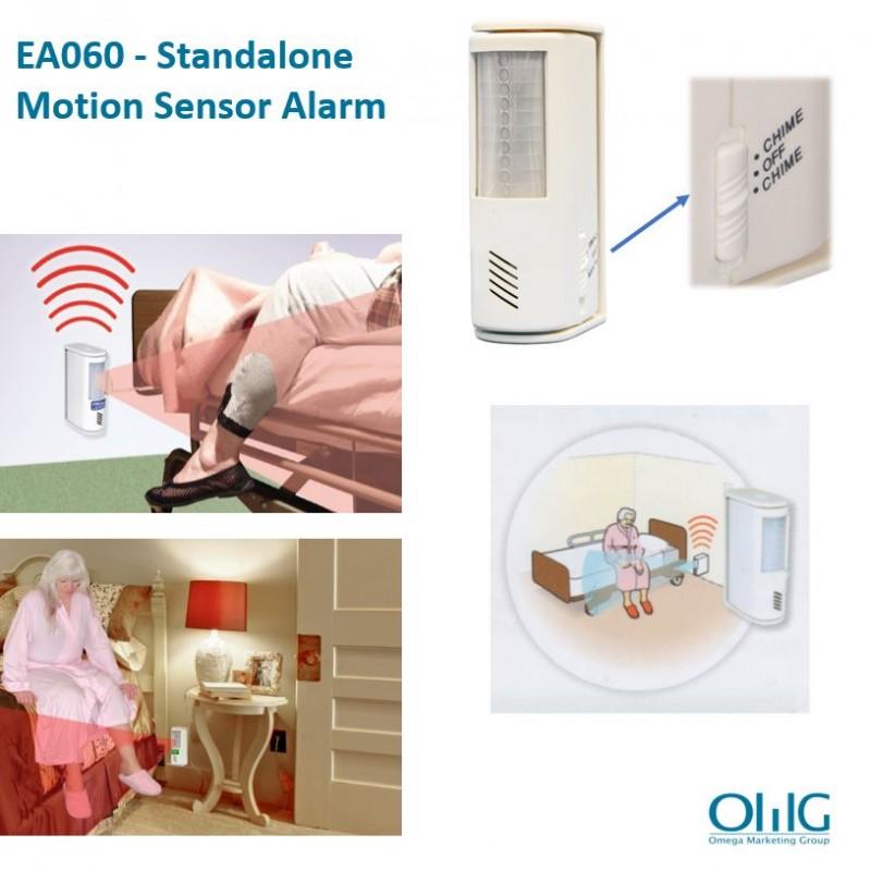 EA060 - Autonomiczny alarm czujnika ruchu - Strona główna