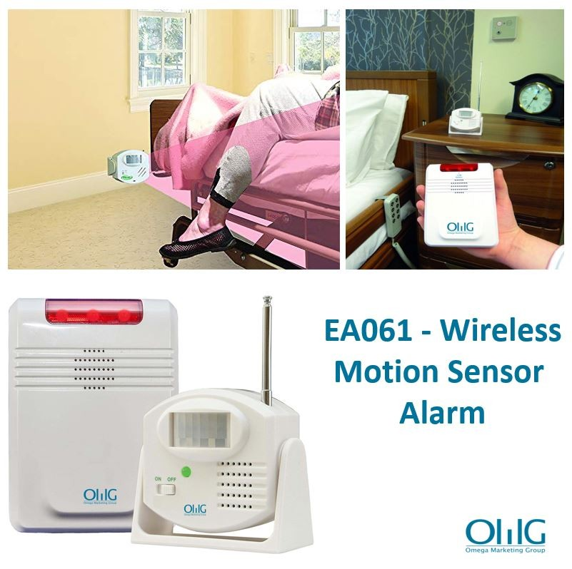 EA061 - Wireless Motion Sensor Alarm System - Main Page