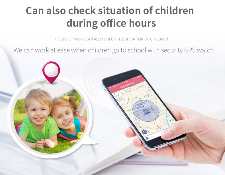 GPS020W - Best GPS Tracker Watch for Autism Autistic Kids Special Needs Child - GPS Tracker