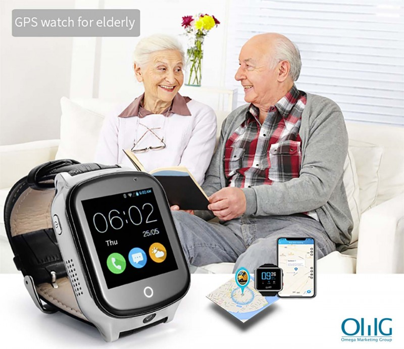 GPS020W -OMG GPS Tracker Watch for Alzheimer Dementia Elderly Patients
