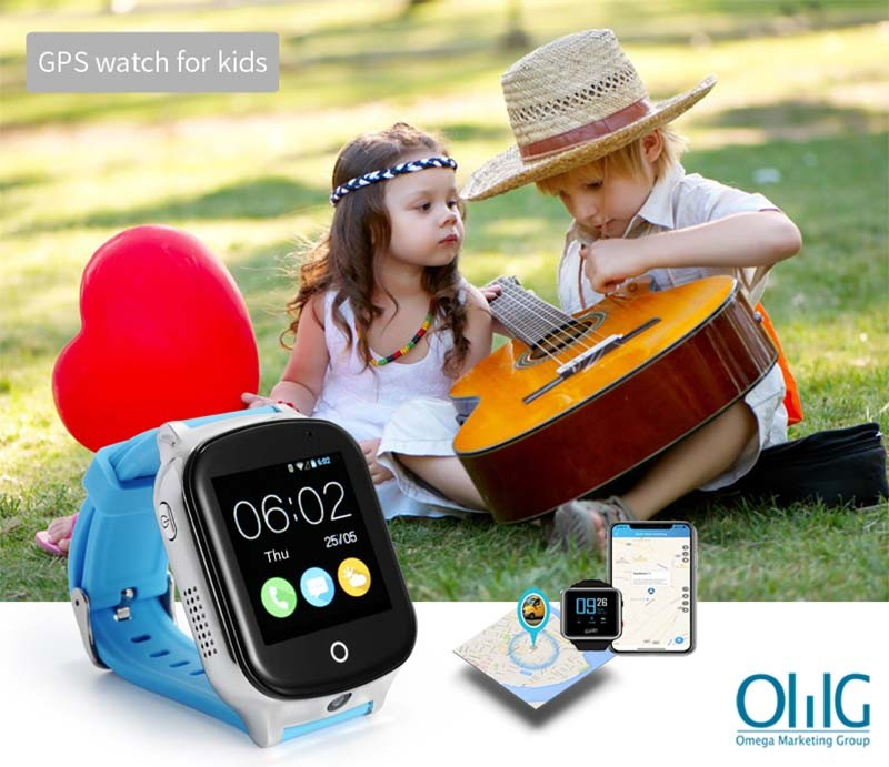 GPS020W - OMG Best GPS Tracker Watch per Autism / Autism Kids / Special Need Needs