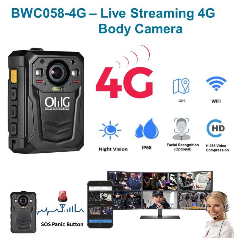 Mini WIFI,GPS,3G,4G Body Worn Camera - Main Page