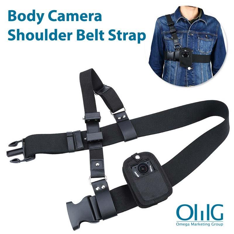 OMG Police Body Worn Camera Shoulder Belt Strap - Main Page