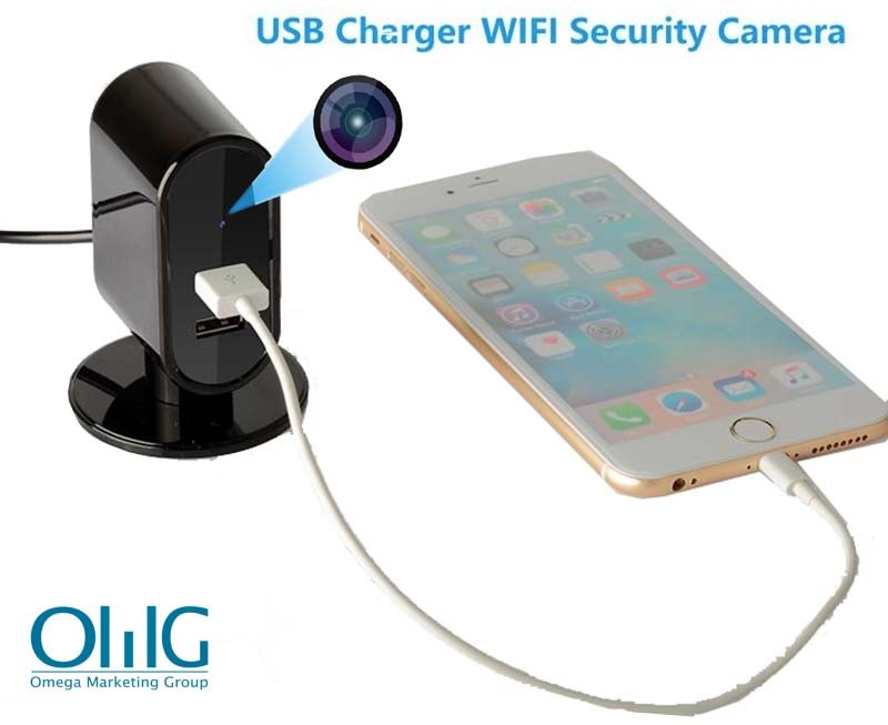 SPY326 – OMG USB Charger WIFI SPY Camera