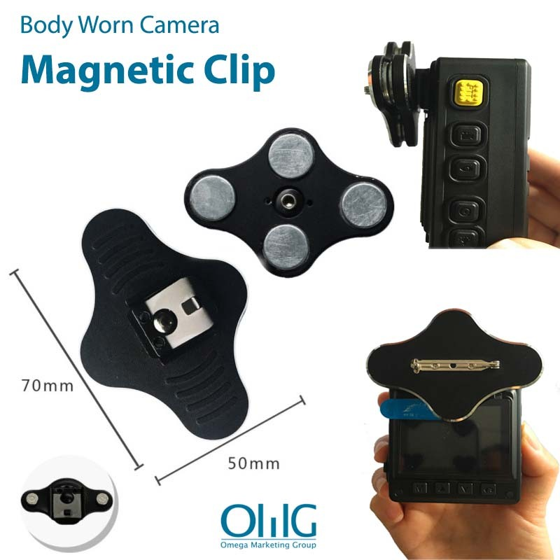BWA005-MP - Body Cam Magnet Pin (Boy Worn Camera Accessories) - Main Page