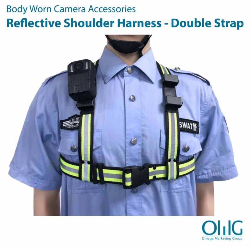 BWA006-RSH - Body Cam Reflective Shoulder Strap Harness
