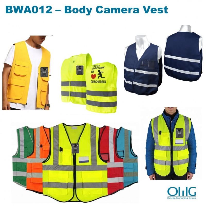 BWA012 - Korpus kamerasi uchun kamzul (Korpus kiygan kameralar uchun aksessuarlar)