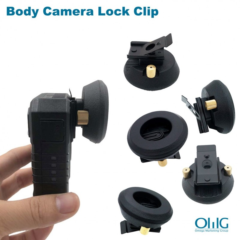 BWC010-LC - Body Camera Lock Clip (Body Camera Accessories)