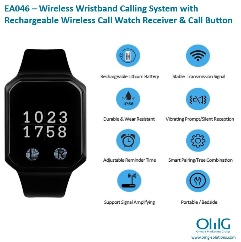 EA046 - Wireless Calling System - Features