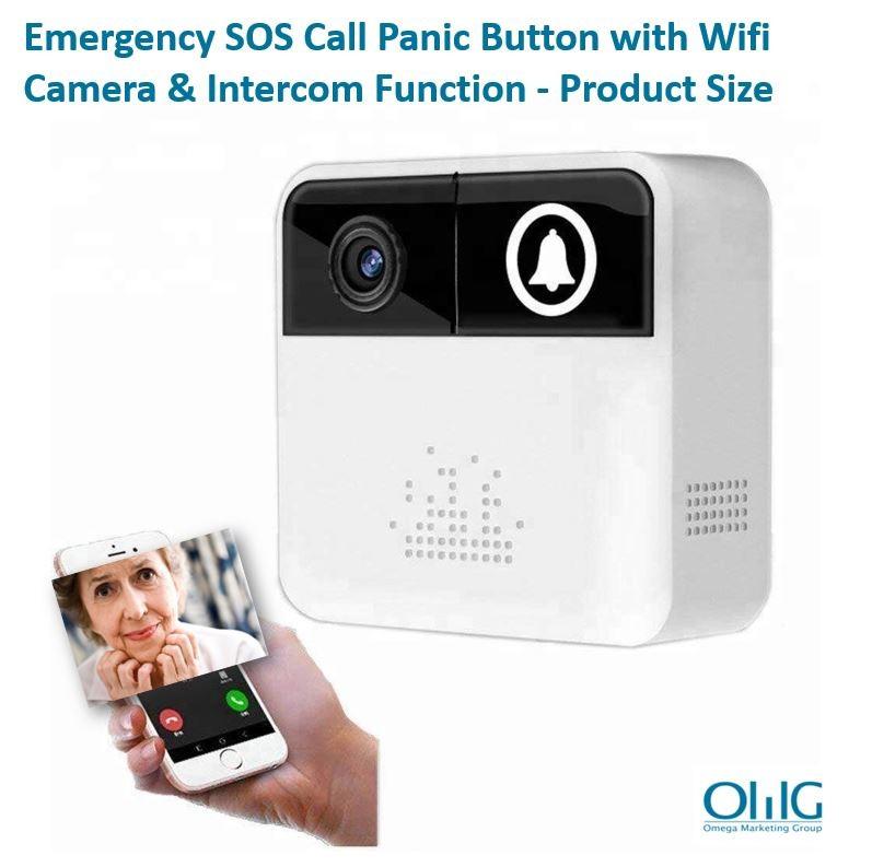 EA067 - ʻO OMG Emergency SOS Call Panic Button me Wifi Camera a me Intercom Function