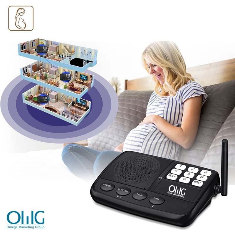IC002 Wireless Intercom System – Home & Office - For Pregnant Woman