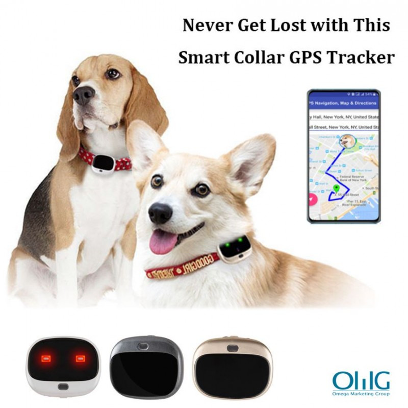 GPS037D - OMG Mini Anti-Lost Personal GPS Tracker for Pets (Dogs / Cats)