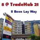 ລູກຄ້າ OMG Solutions - BWC003 - MCST 3137, 8 @ TradeHub21, 8 Boon Lay Way