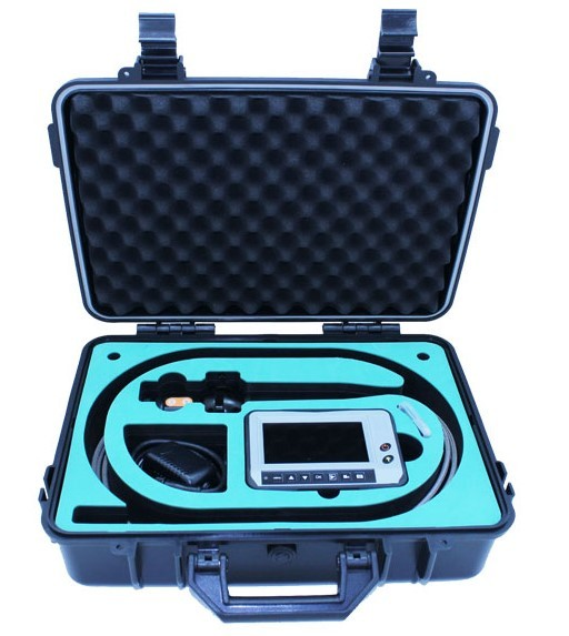 END010 - Portable Industry Endoscope Video Scope with 4-way tip articulations,more than 150deg, probe lens can rotate 360deg 02