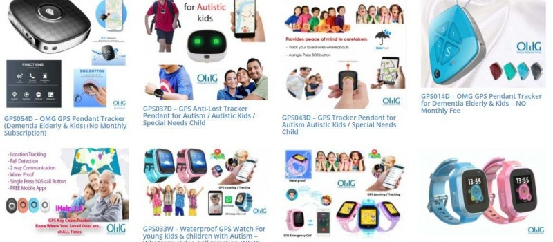 GPS Trackers for Kids & Child with Autism
