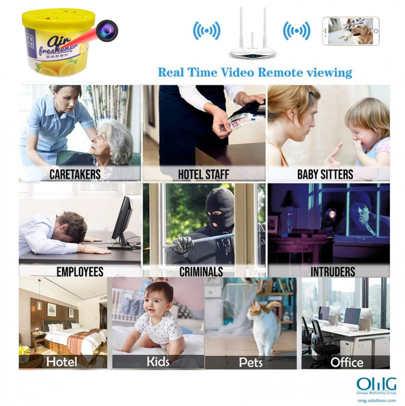 SPY336 - OMG Summary of Spy Air Purifier - Application