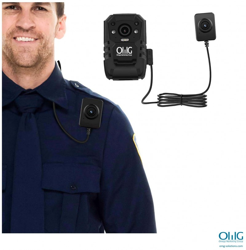 BWA007-EC01 - OMG External Camera Lens for Body Camera - How to Wear it