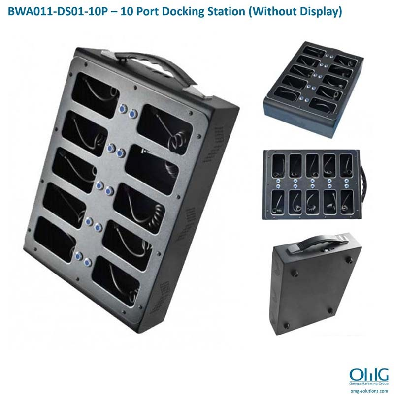 BWA011-DS01-10P – 10 Port Docking Station (Without Display)