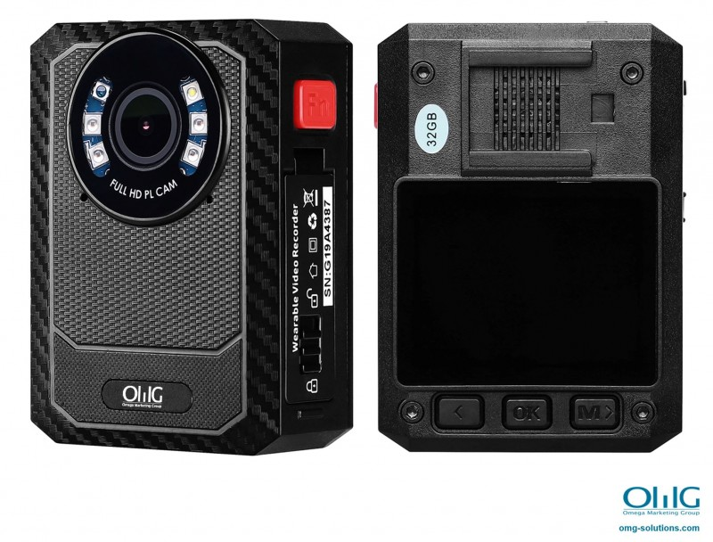 BWC104-W4 - WIFI 4G Body Worn Camera (Removable Battery)