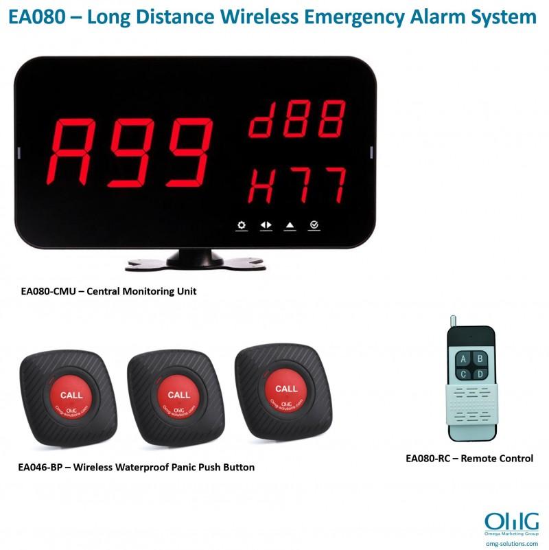 EA080 – Long Distance Wireless Emergency Alarm System