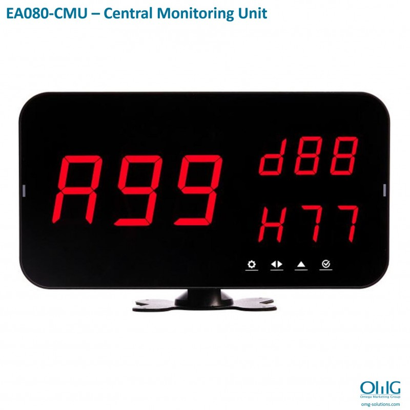 EA080-CMU – Long Distance Wireless Emergency Alarm System - Central Monitoring Unit