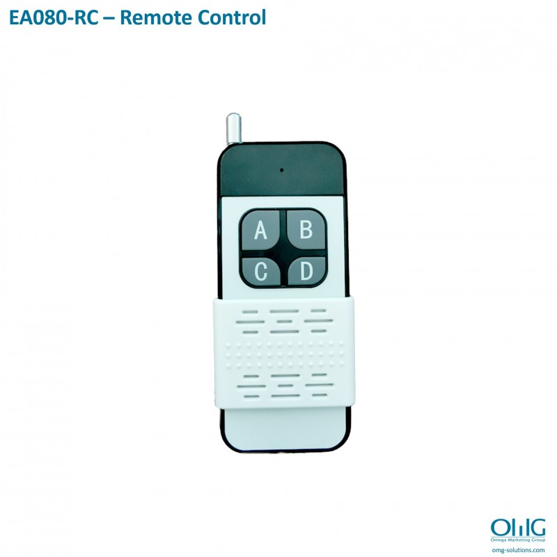 EA080-RC – Long Distance Wireless Emergency Alarm System - Remote Control
