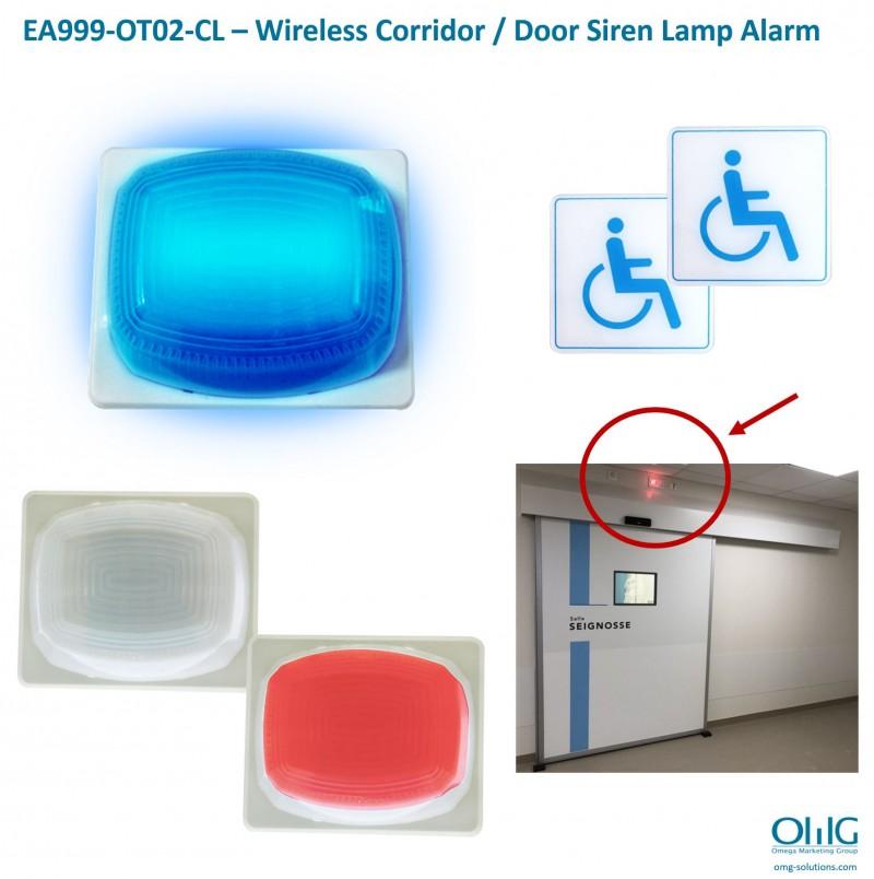 EA999-OT02-CL – Wireless Corridor - Door Siren Lamp Alarm 02