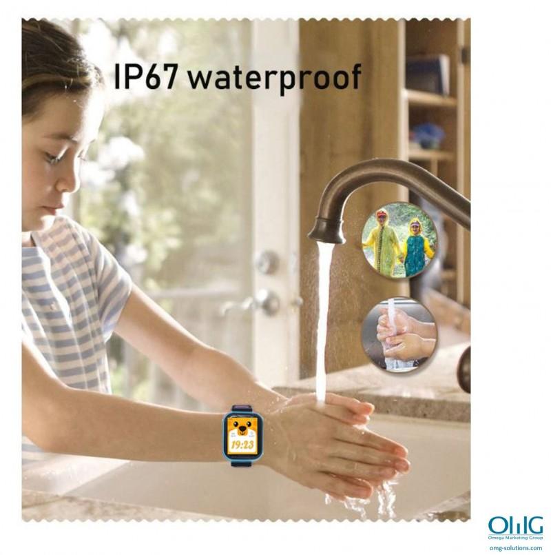 GPS033W - 4G Waterproof Video Call Watch - Waterproof 03
