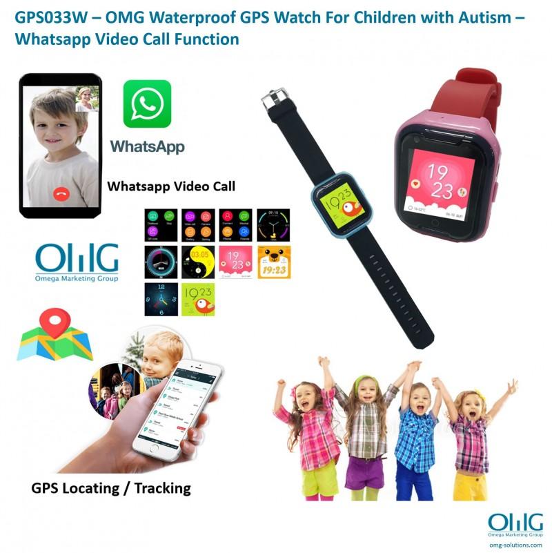 GPS033W-OMG Waterproof GPS Watch for children - Main page