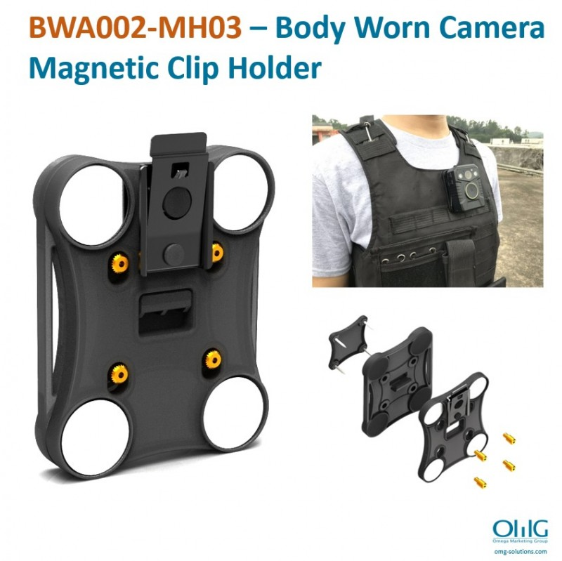 BWA002-MH03 - Body Worn Camera Magnetic Clip Holder icon first page