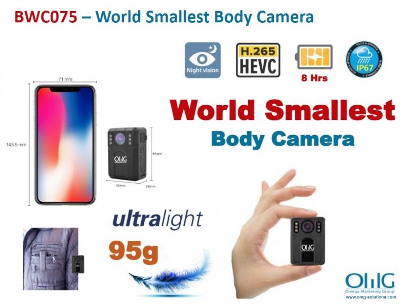 BWC075 – OMG World Smallest Mini Police Body Worn Camera v2-0 updated