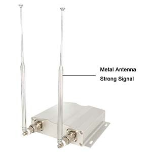 EA999-BT02 - Signal Booster (Silver) - Side View