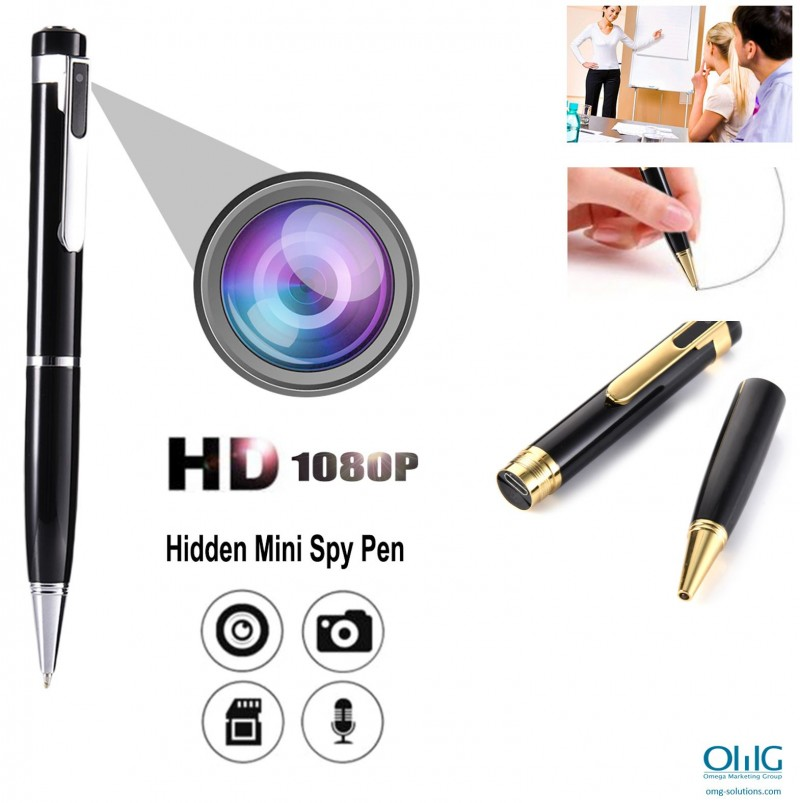 SPY361-PEN - Hidden SPY Video Audio Pen Camera - Main