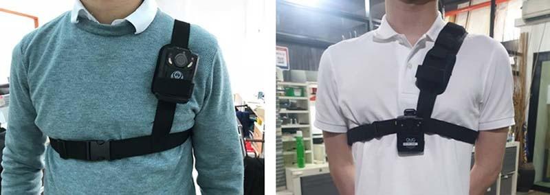 BWA001-SH03 - Body Worn Camera - Shoulder Harness