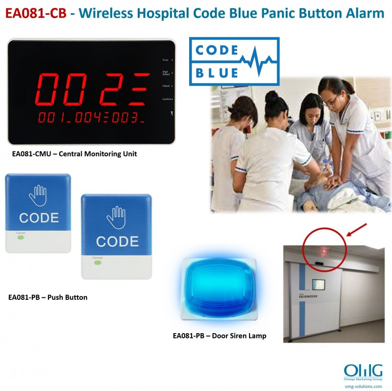 EA081 - Wireless Disabled Toilet Panic Button Pull Cord Strings Alarm v3