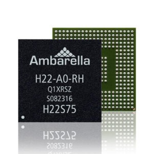 OMG Body Camera - Chipset - Ambarella-H22-SOC-AI-Accelerator