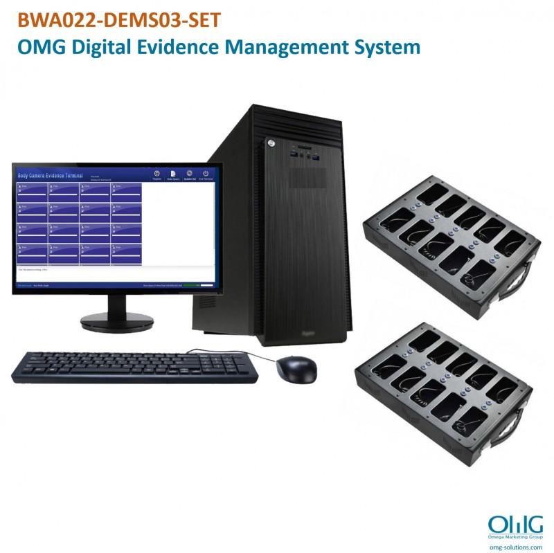 BWA022-DEMS03-SET - OMG Digital Evidence Management System