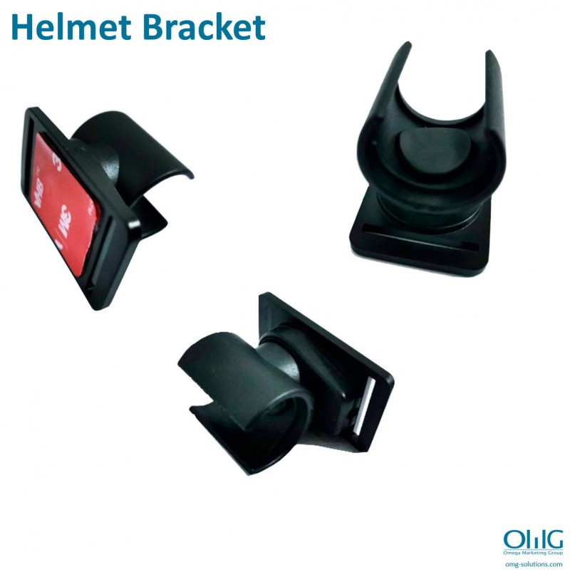 BWC007-EC02 – OMG External Bullet Camera Lens for Body Worn Camera with Headset Holder - Helmet Bracket