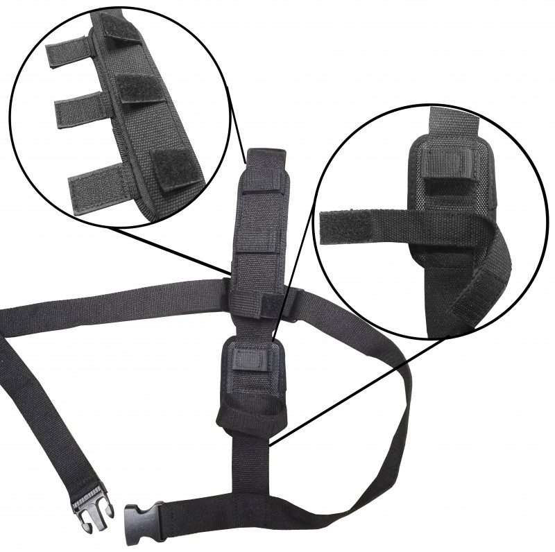 OMG BWA003 - Police Body Worn Camera - Shoulder Harness - Different View