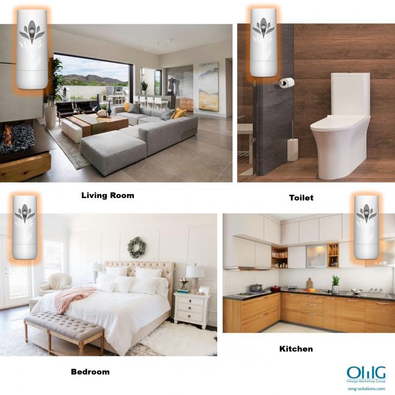 SPY088B - OMG Air Wick Automatic Air Refresher Spray Hidden Spy Camera Application