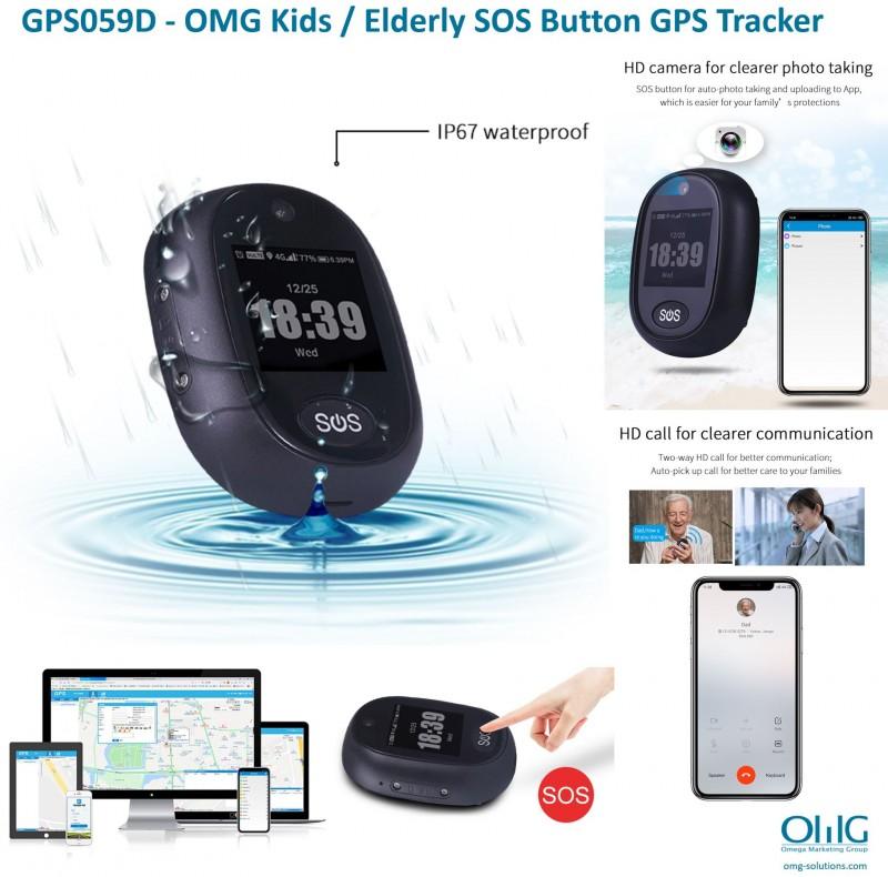 GPS059D - OMG Elderly SOS Button GPS Tracker - Main