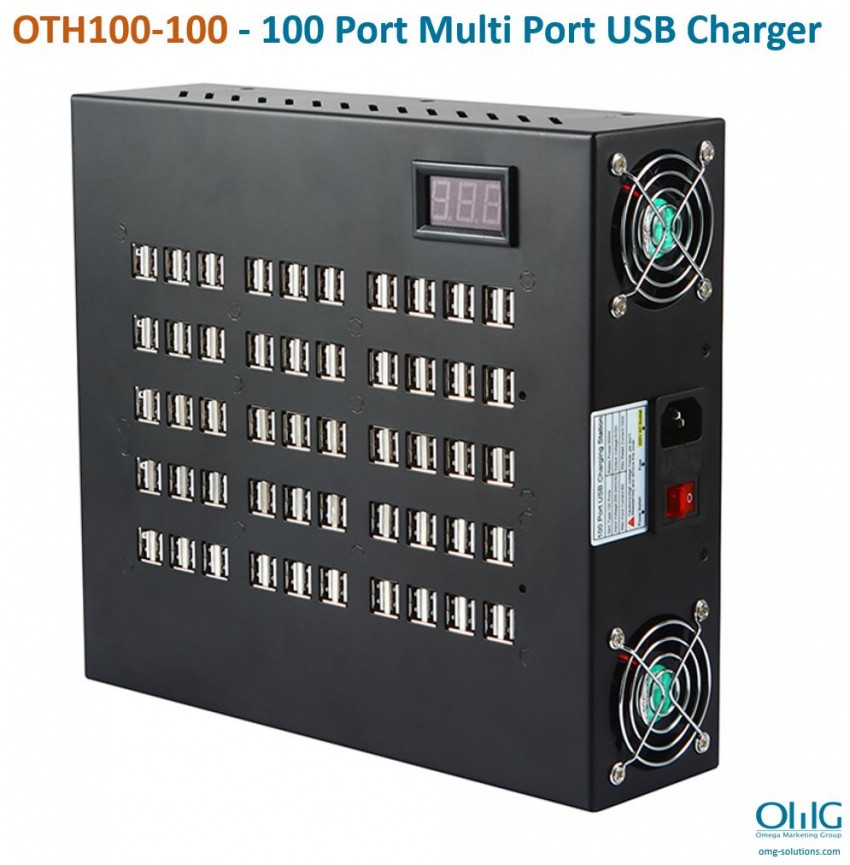 OTH100-100 - 100 Port Multi Port USB Charger - Main Page